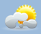 some clouds, winds: 5kph calm, windchill: 8°c