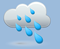 heavy rain, winds: 15 kph light winds, windchill: 1 °c, Rain: 28