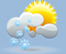 snow shwrs, winds: 5 kph light winds, windchill: -2 °c