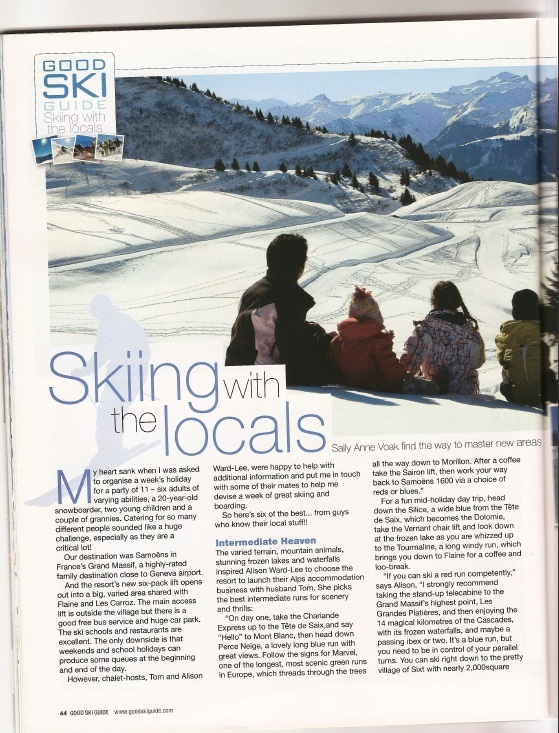 Good Ski Guide 2010 - Skiing with the locals