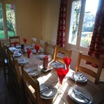 Chalet Chamoissiere Dining
