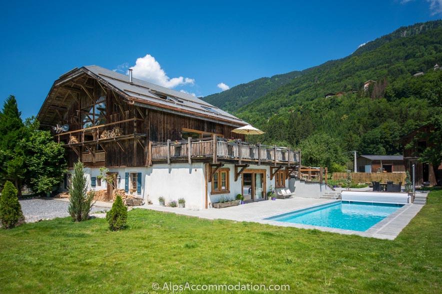 Ferme des Sourires - Verchaix - 6/7 bedroom farmhouse chalet with ...