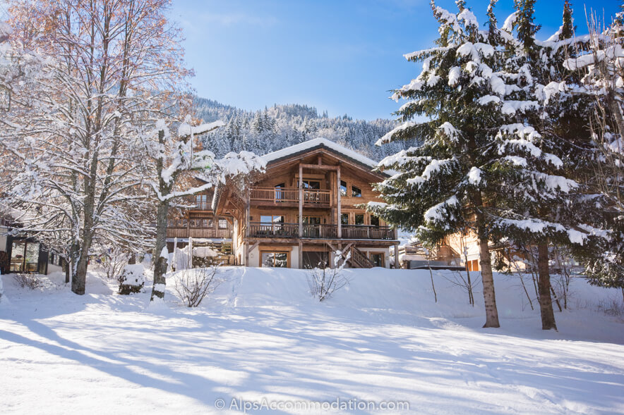 Chalet Maya Samoens Stunning location very close to the piste and ski lift of Vercland