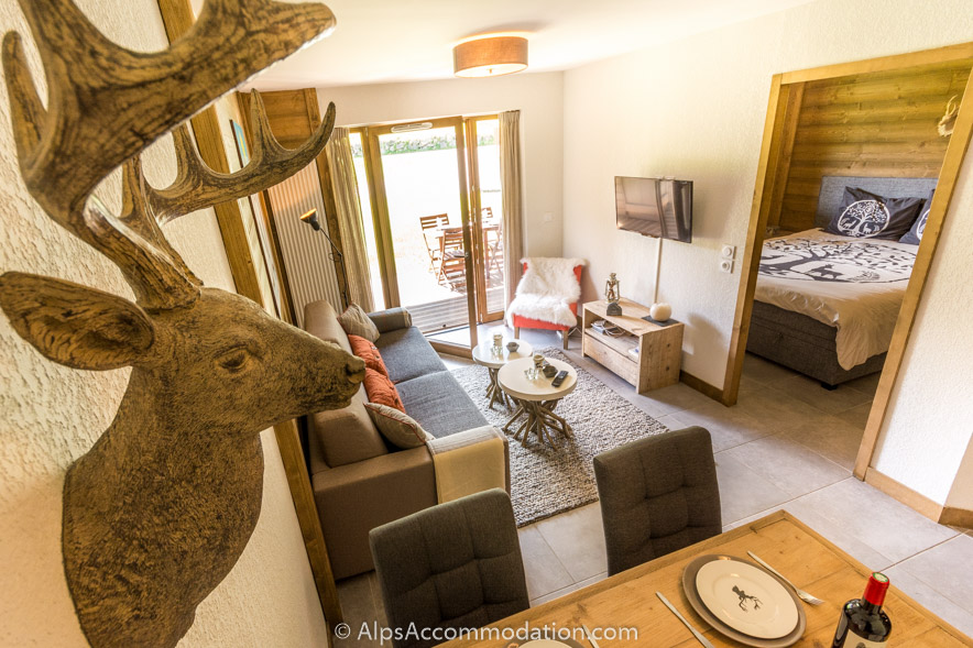 Apartment Les Niveoles A2 Morillon A bright and comfortable apartment