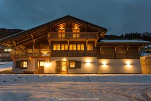 Chalet Le Strange Samoens The chalet is in the perfect location 100m from the ski lift and pistes