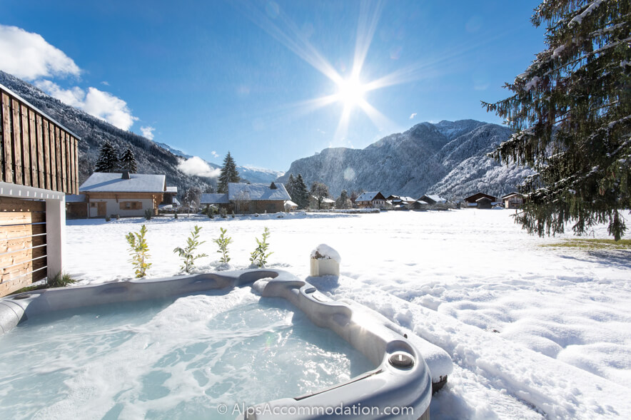 Chalet Toubkal Samoens South Facing Garden And Hot Tub With Stunning Views  ...