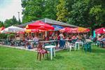 Enjoy a refreshing drink by the lake in Morillon