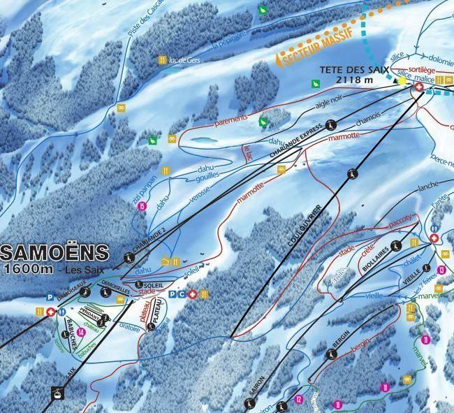 Grand Massif Ski Area Improvements 2017/18 - New Lifts!