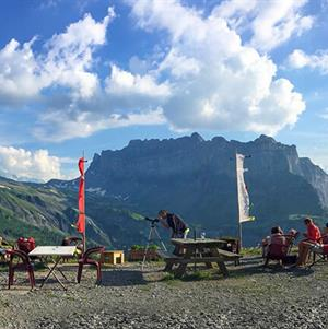 Explore several refuges around Samoens accessible by e bike