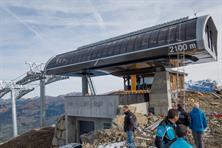 The top station of the Coulouvrier chairlift, 900m higher than the base station!