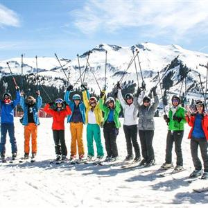 Enjoy wonderful skiing throughout the Grand Massif