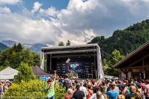 Enduro World Series mountain biking event in Samoens