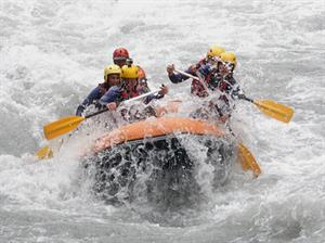 Rafting in Samoens - It's great fun!
