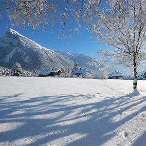 Winter in Samoens