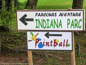 Pantball and Adventure parks