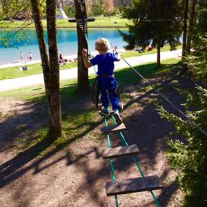 Morillon lake adventure park - next to the beach and swimming lake