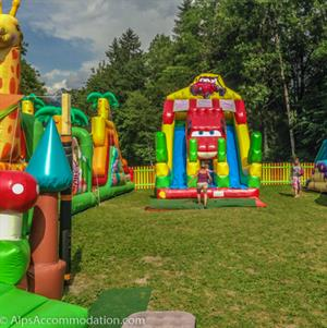 Inflatables in Morillon
