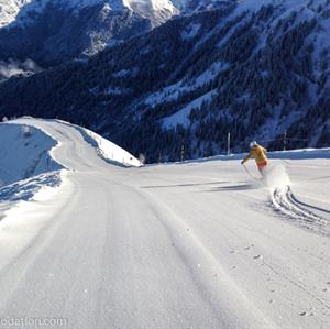 Perfect pistes in Samoens