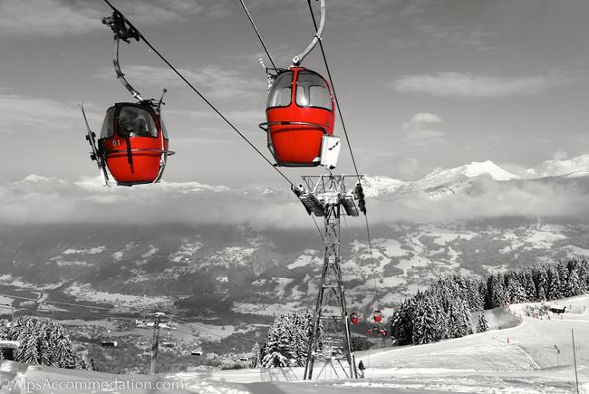 Christmas Village Ski Lift.Grand Massif Samoens And Morillon Lift Passes