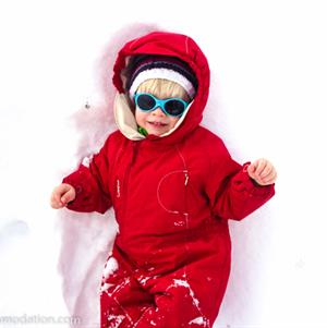 Deep, fresh snow is great fun at any age!