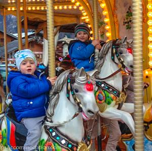 The carousel in Samoens in a firm favourite