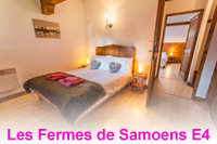 Spacious apartment in Samoens with swimming pool and sauna in residence Fermes de Samoens