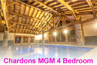 4 bedroom apartment in Samoens with swimming pool