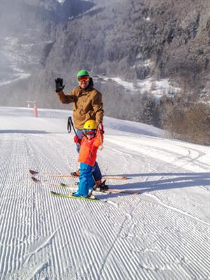 The Pistes of Sixt are ideal for beginners and families