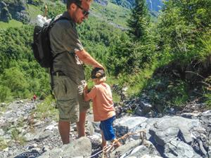 The hiking above Sixt Fer a Cheval is suited to all abilities
