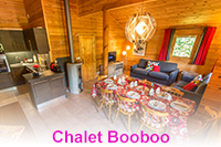 Chalet in Morillon with swimming pool and sauna. Residence Les Chalets du Bois de Champelle.