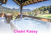 Luxury chalet in Morillon with hot tub close to the telecabine ski lift