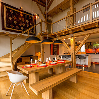 A selection of chalets and apartments in Samoens and Morillon