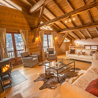 5 bedroom apartments and chalets in Morillon and Samoens
