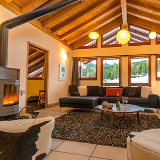 Ski in ski out chalets and apartments in Samoens and Morillon
